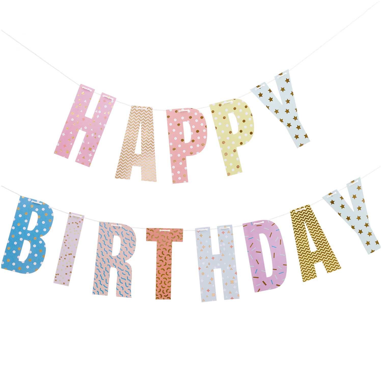 RICO GARLAND HAPPY BIRTHDAY WITH 3M YARN