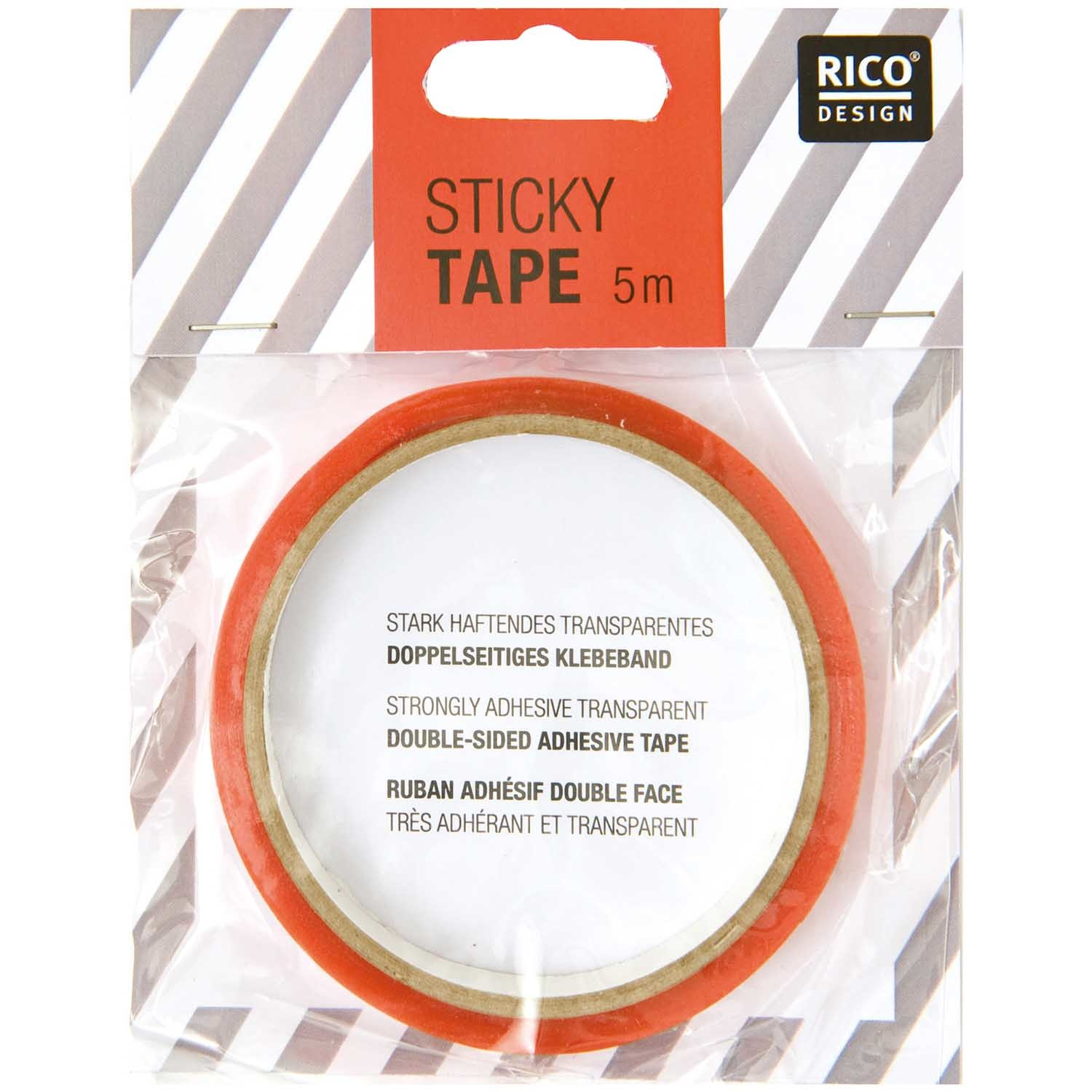 Rico NAY DOUBLE-SIDED STICKYTAPE 6 MM