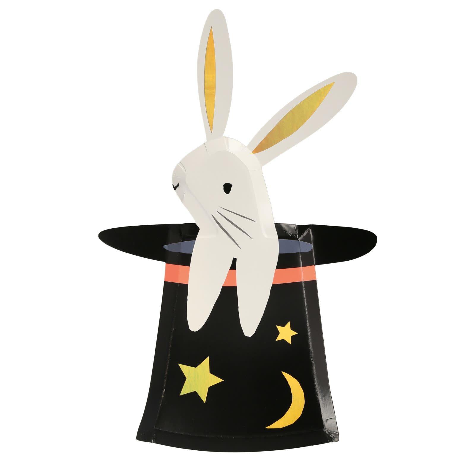 MERIMERI Bunny in hat shaped plates