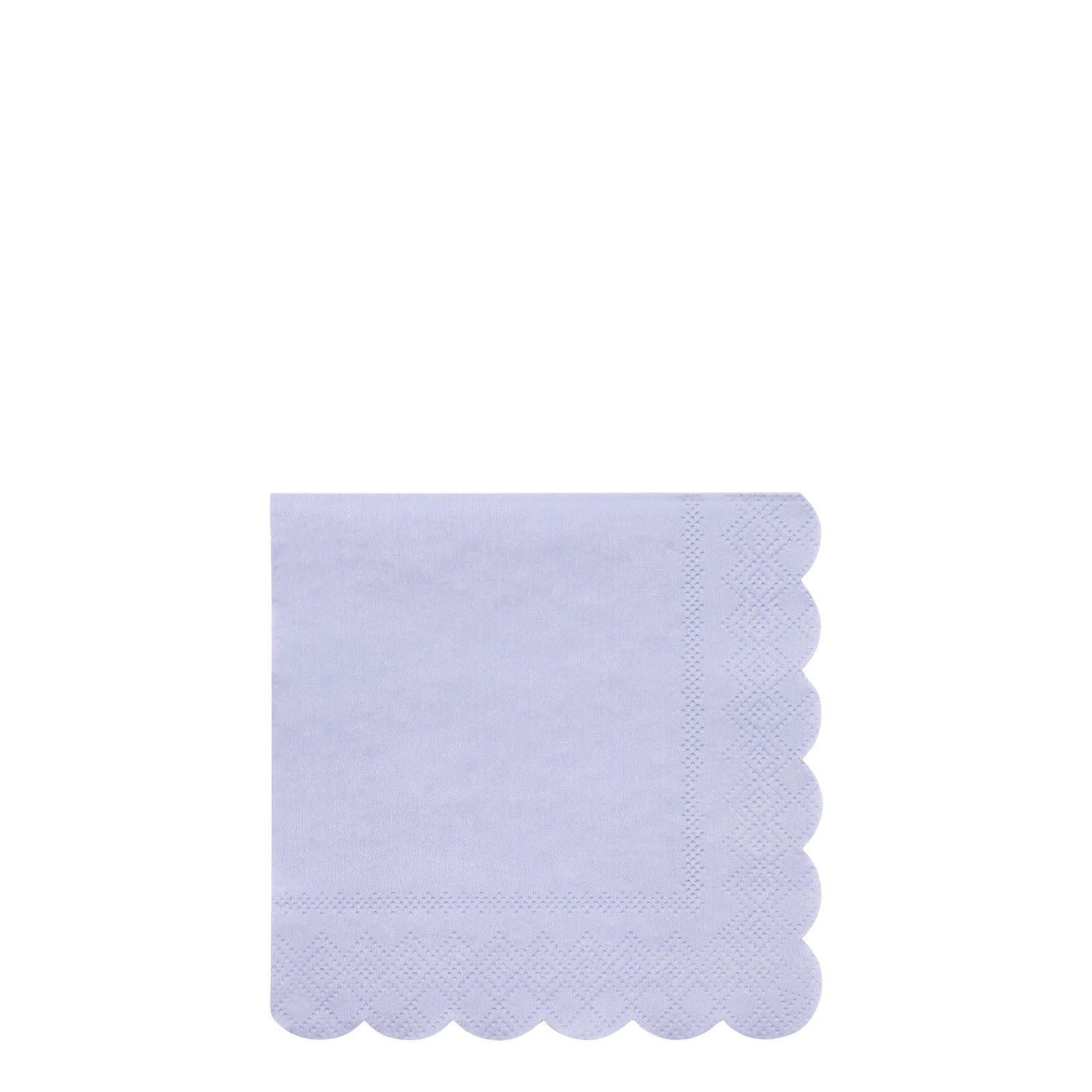 MERIMERI Blue simply eco napkins S