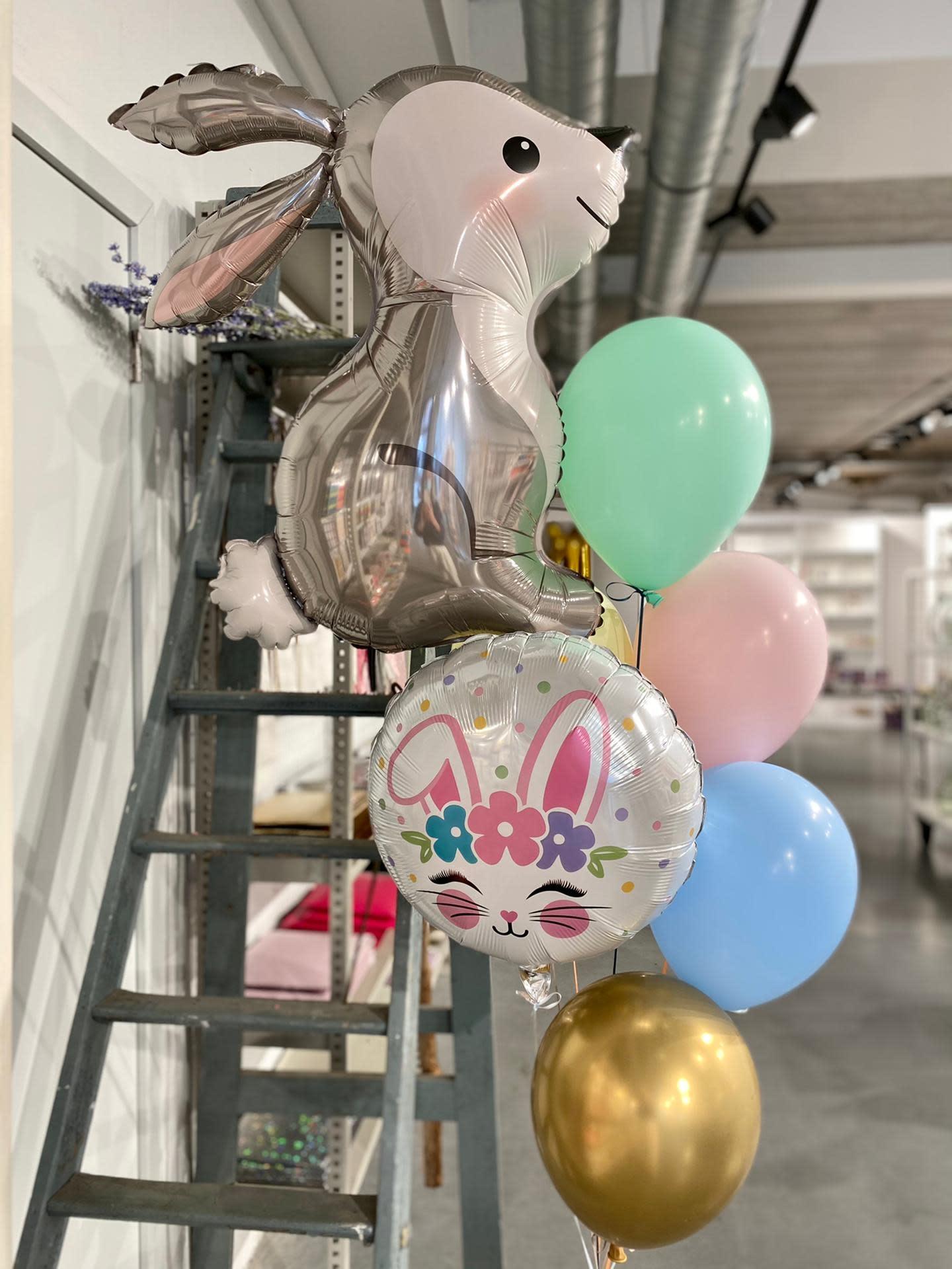 YAY Easter Balloon bouquet de luxe