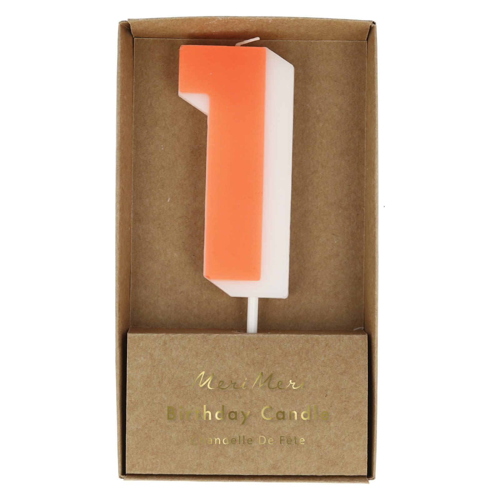 MERIMERI Color number 1 candle