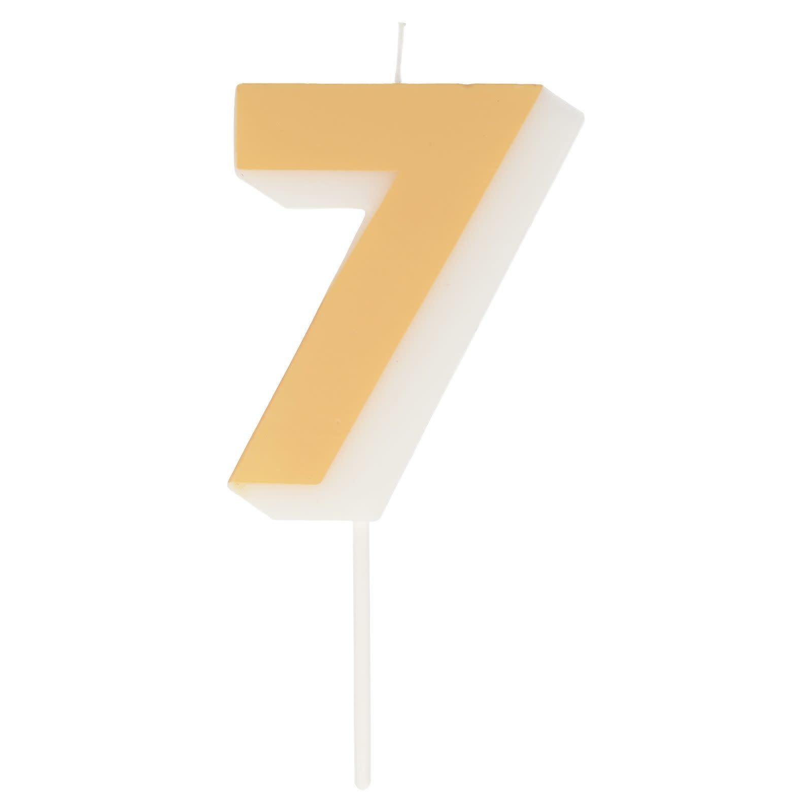 MERIMERI Color number 7 candle