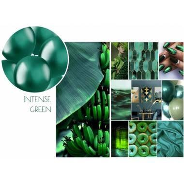 FT Balloons Intense Green 33cm - 10 pieces