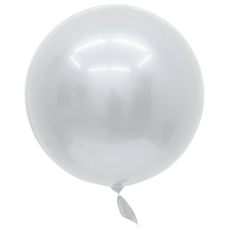 SMP 1 white Bobo balloon, mirror effect 45 cm