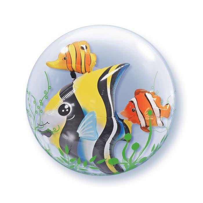SMP double bubble sea fish balloon 60 cm