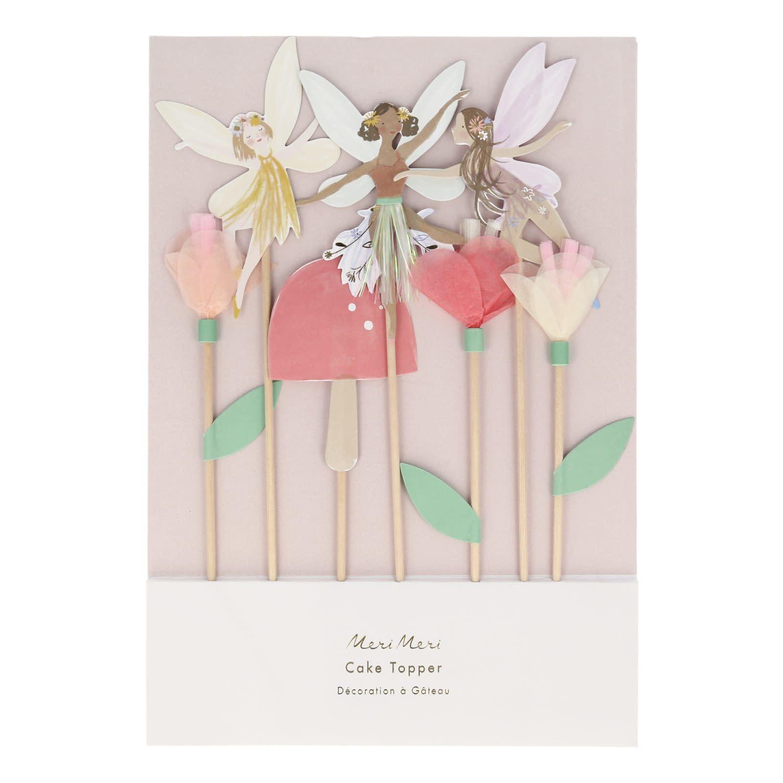 MERIMERI Fairy cake toppers