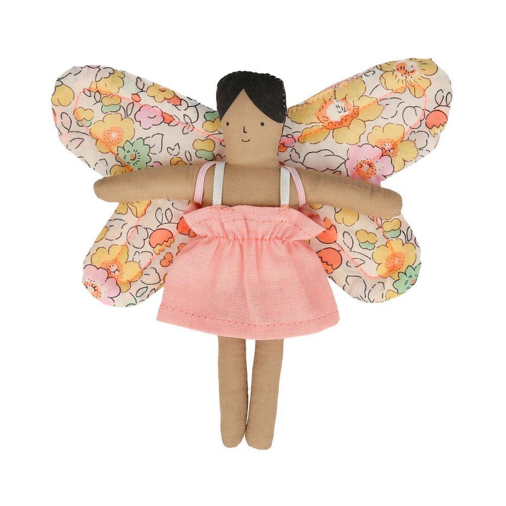 MERIMERI Butterfly Daisy Mini Suitcase Doll