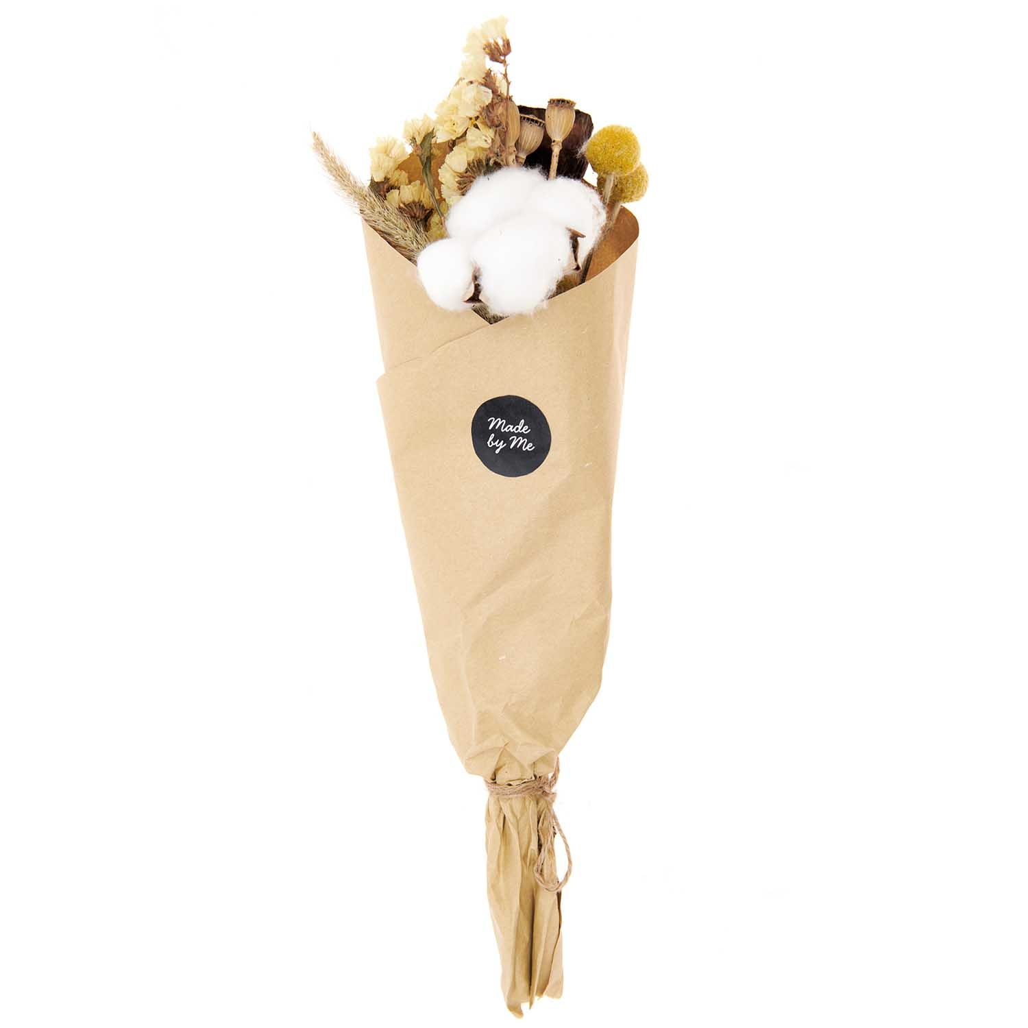Rico NAY Dried flowers set, natural yellow