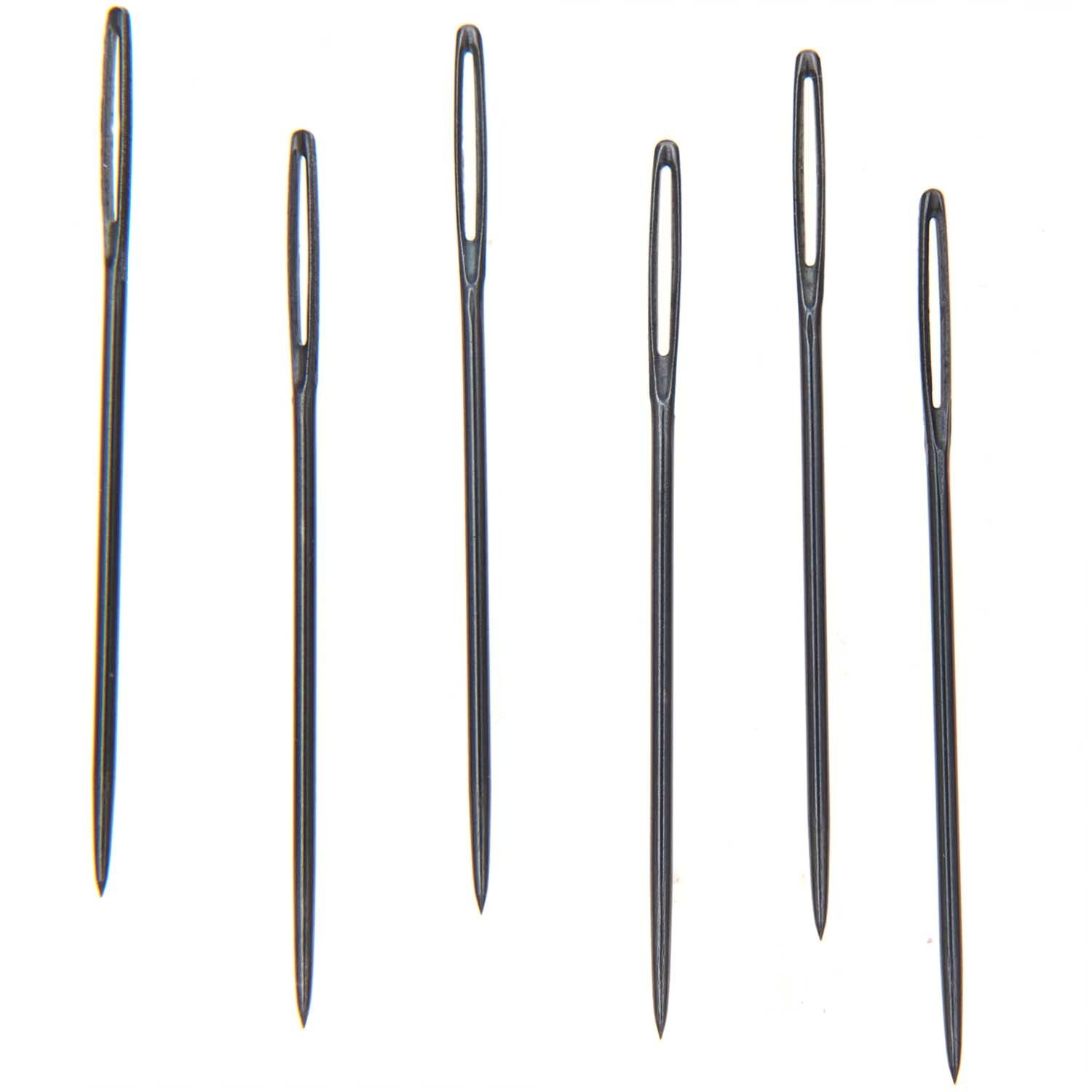 Rico NAY EMBROIDERY NEEDLES 18 6 PIECES pointed