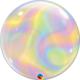 SMP bubble balloon iridescent swirls 56 cm