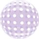 SMP Dots Bubble Balloons Purple 45 cm