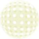 SMP Dots Bubble Balloons Yellow 45 cm