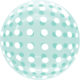 SMP Dots Bubble Balloons Green 45 cm