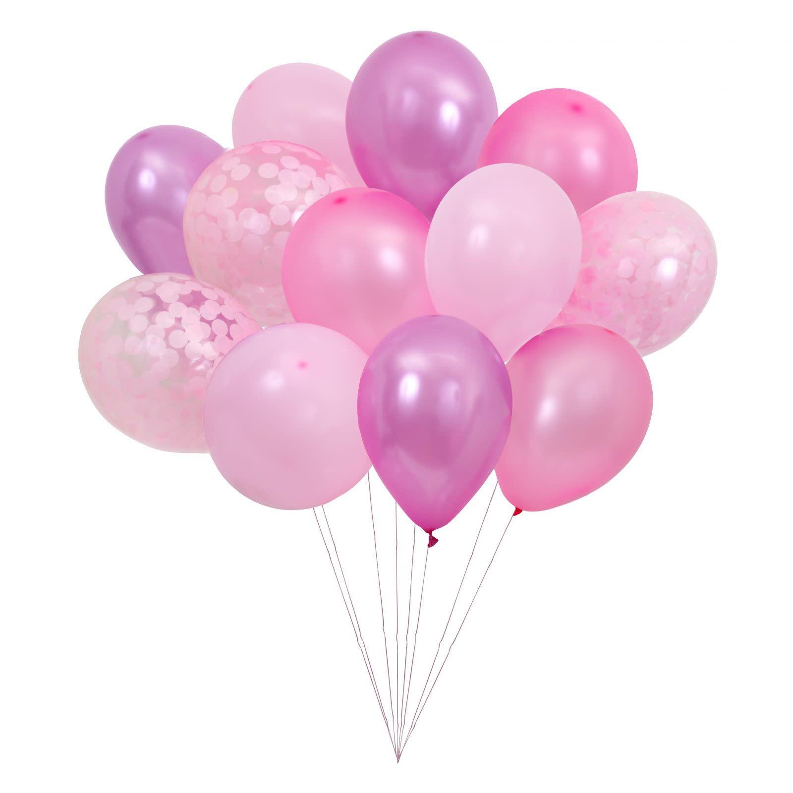 MERIMERI Beautiful balloons pink