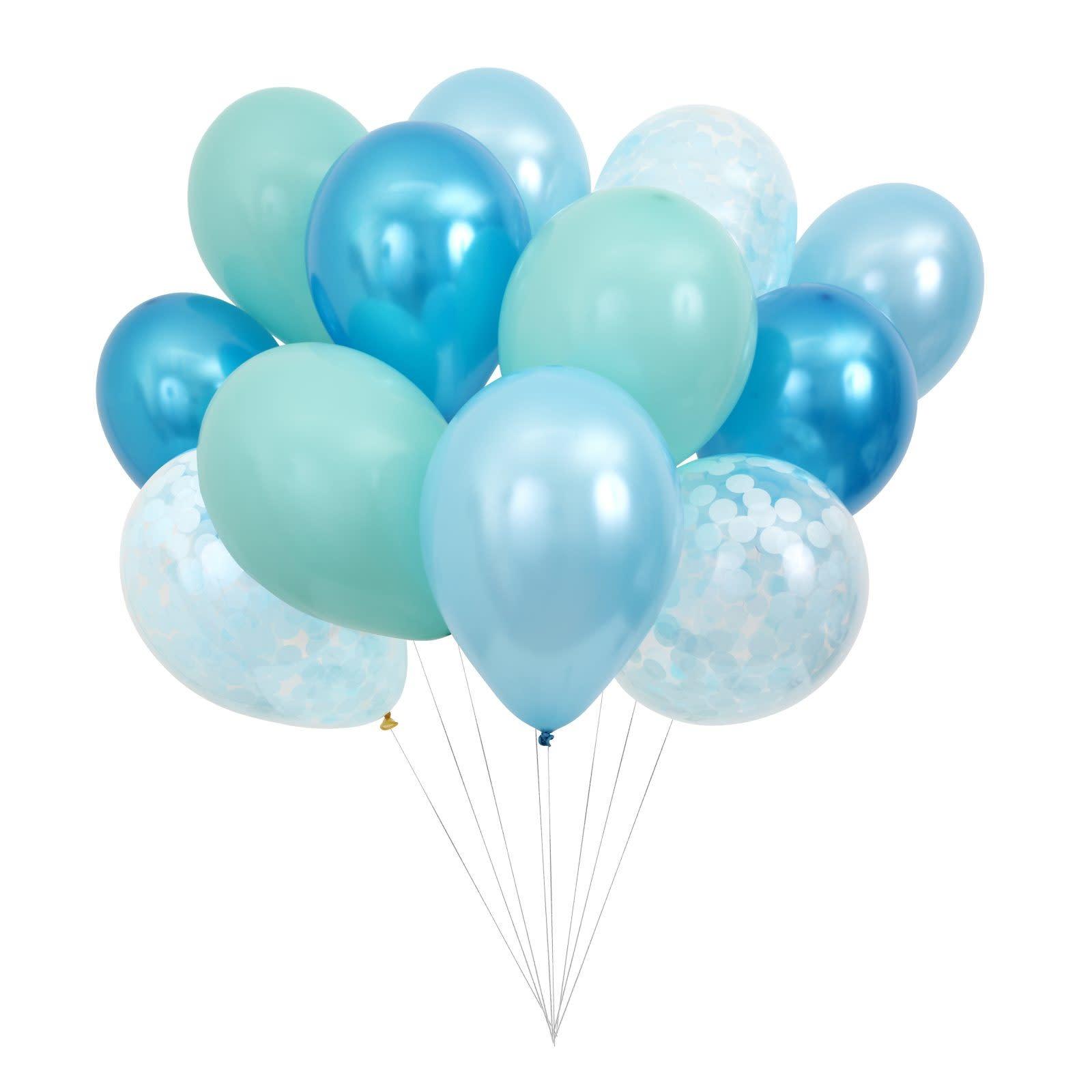 MERIMERI Beautiful balloons blue