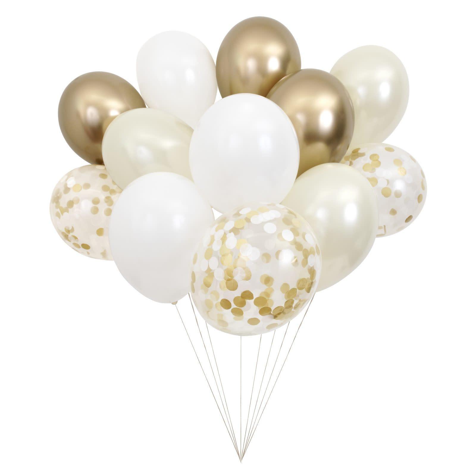 MERIMERI Beautiful balloons gold