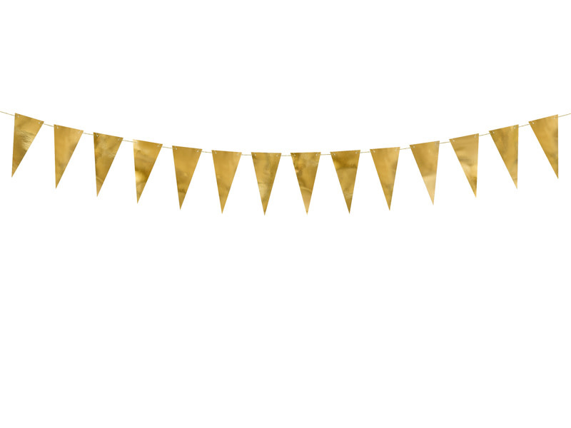 PD Bunting, gold, 2.15 m