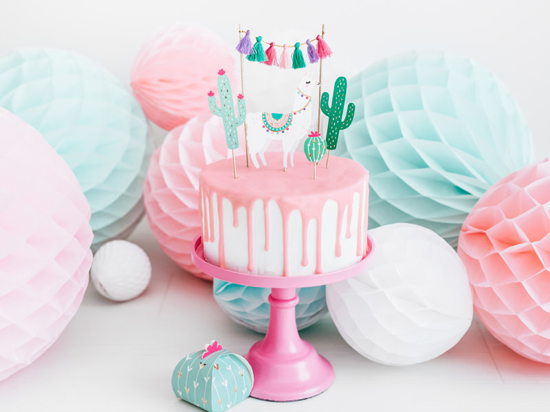 PD Cake toppers Llama, 9-20cm