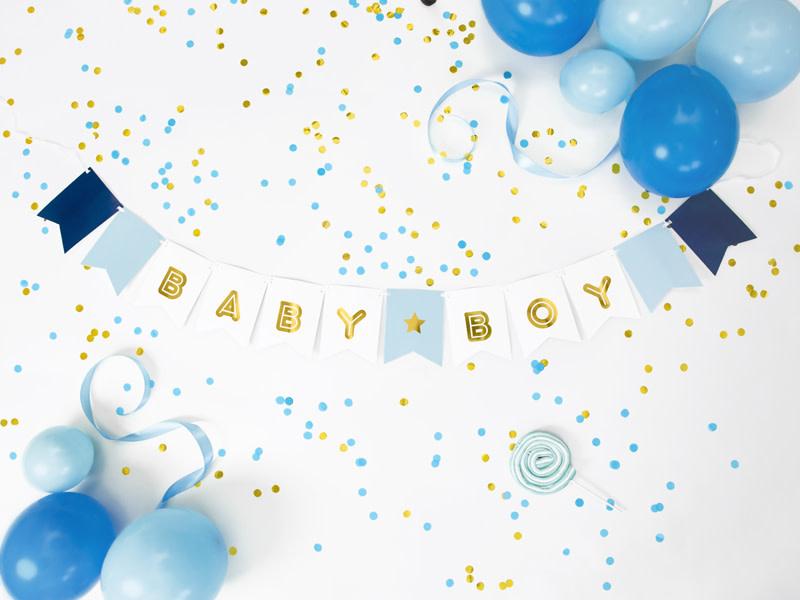 PD Banner Baby Boy, mix, 15 x 160 cm