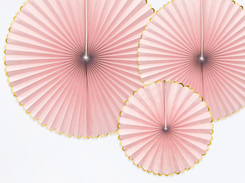 PD Decorative Rosettes Yummy, light pink