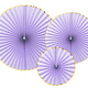 PD Decorative Rosettes Yummy, light lilac