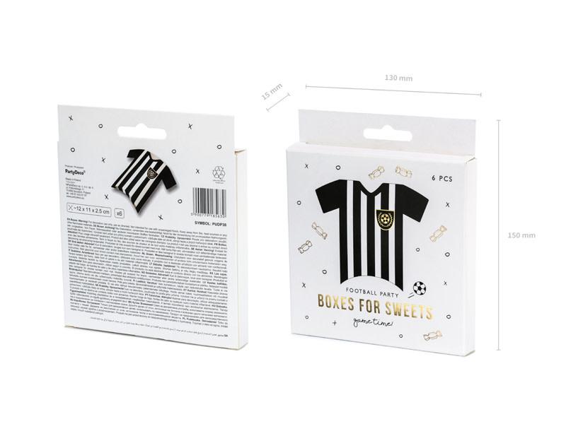 PD Boxes Football shirts, mix, 12x11x2.5cm