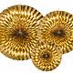 PD Decorative Rosettes, gold
