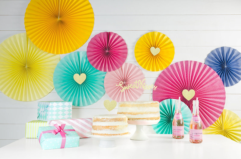 PD Cupcake toppers Sweet Love - Hearts