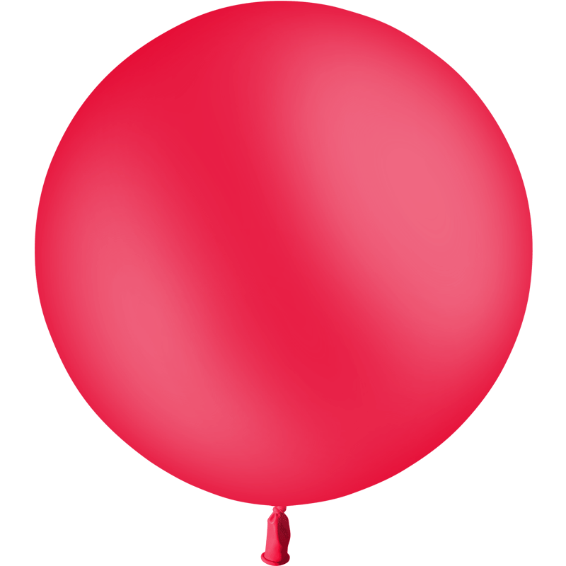 SMP 1 Red latex balloon 60 cm