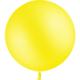 SMP 1 yellow latex balloon 60 cm
