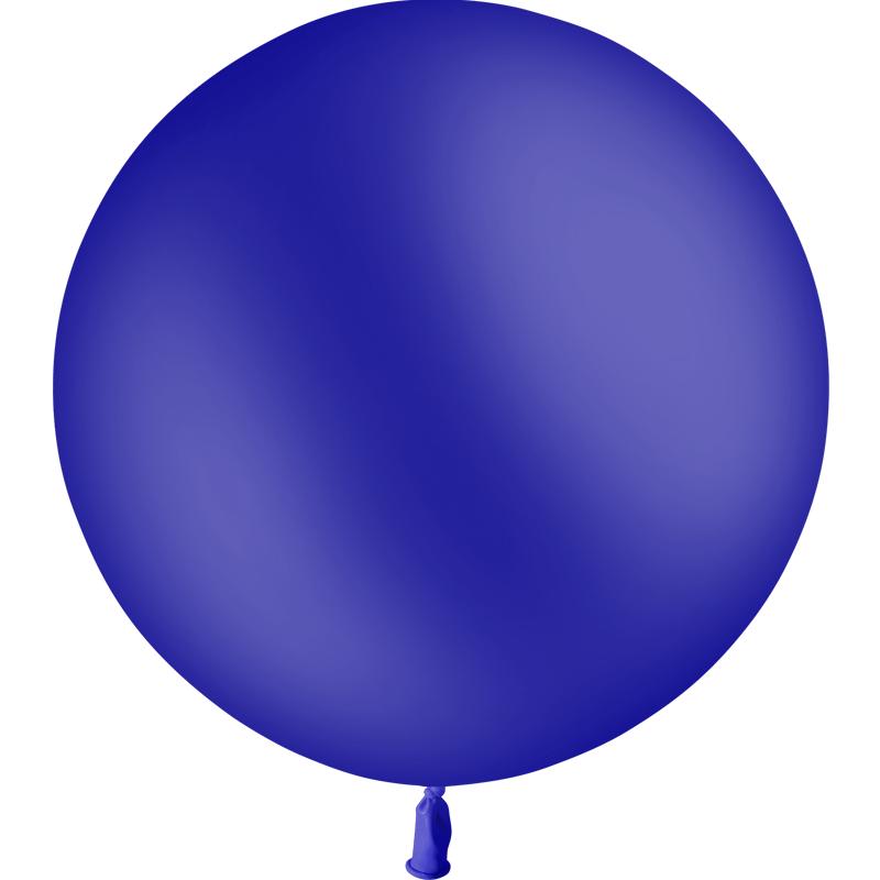 SMP 1 navy blue latex balloon 60 cm
