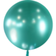 SMP 1 shiny green latex balloon 60 cm