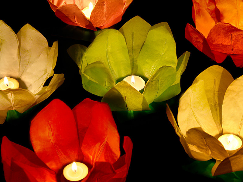 PD Floating lanterns, mix, 29cm