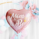 PD Foil balloon Mom to Be, 35cm, pink