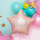 PD Foil balloon Happy Birthday, 40cm, light powder pink