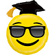 SMP emoji grad foil balloon 94 cm