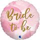 SMP bride to be circle foil balloon 45 cm