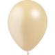 SMP 12 x metallic ivory latex balloons 28 cm 100% biodegradable