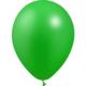 SMP 12 x metallic green latex balloons 28 cm 100% biodegradable