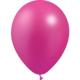 SMP 12 x metallic fuchsia latex balloons 28 cm 100% biodegradable