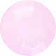 SMP Crystal Bubble Balloon pink 60 cm
