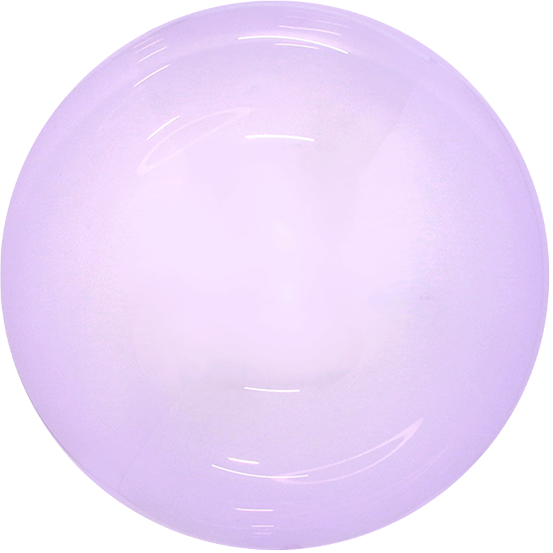 SMP candy bubble balloon purple 45 cm