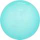 SMP candy bubble balloon turquoise 45 cm