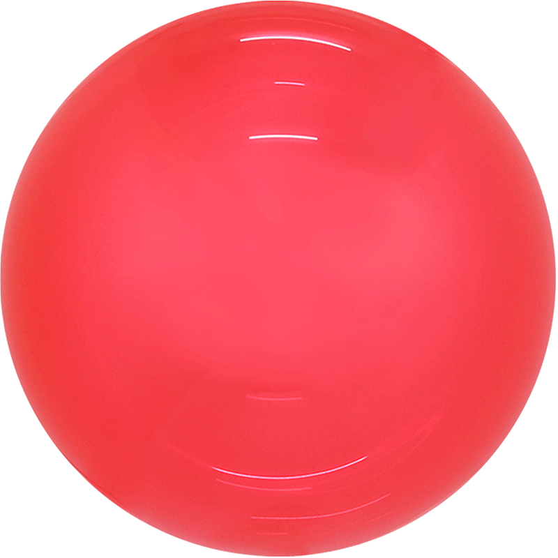 SMP candy bubble balloon red 45 cm