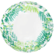SMP clear printed green leaves bubble balloon 50 cm