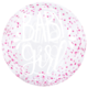SMP clear printed baby girl bubble balloon 50 cm