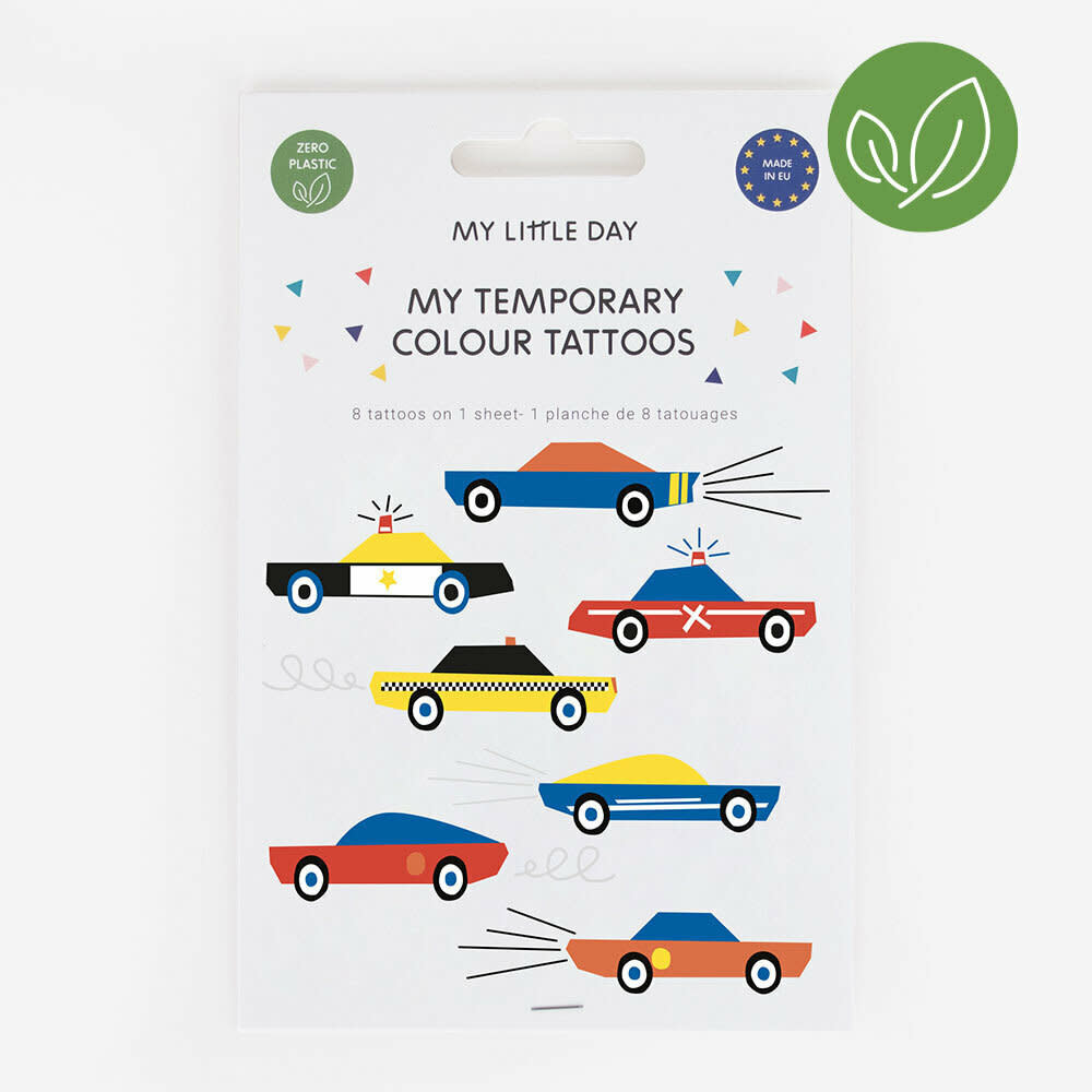 MY LITTLE DAY cars tattoos