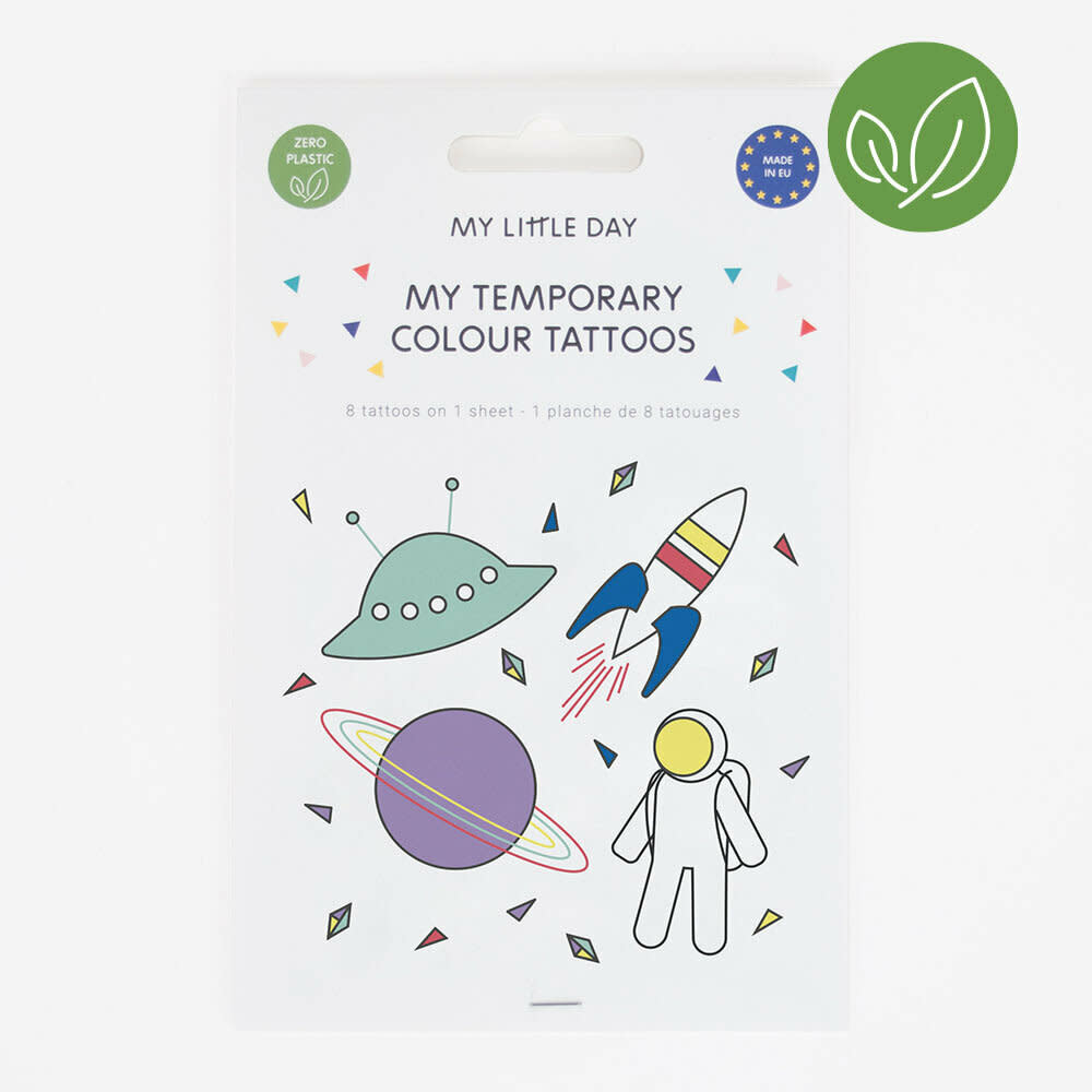 MY LITTLE DAY cosmos tattoos