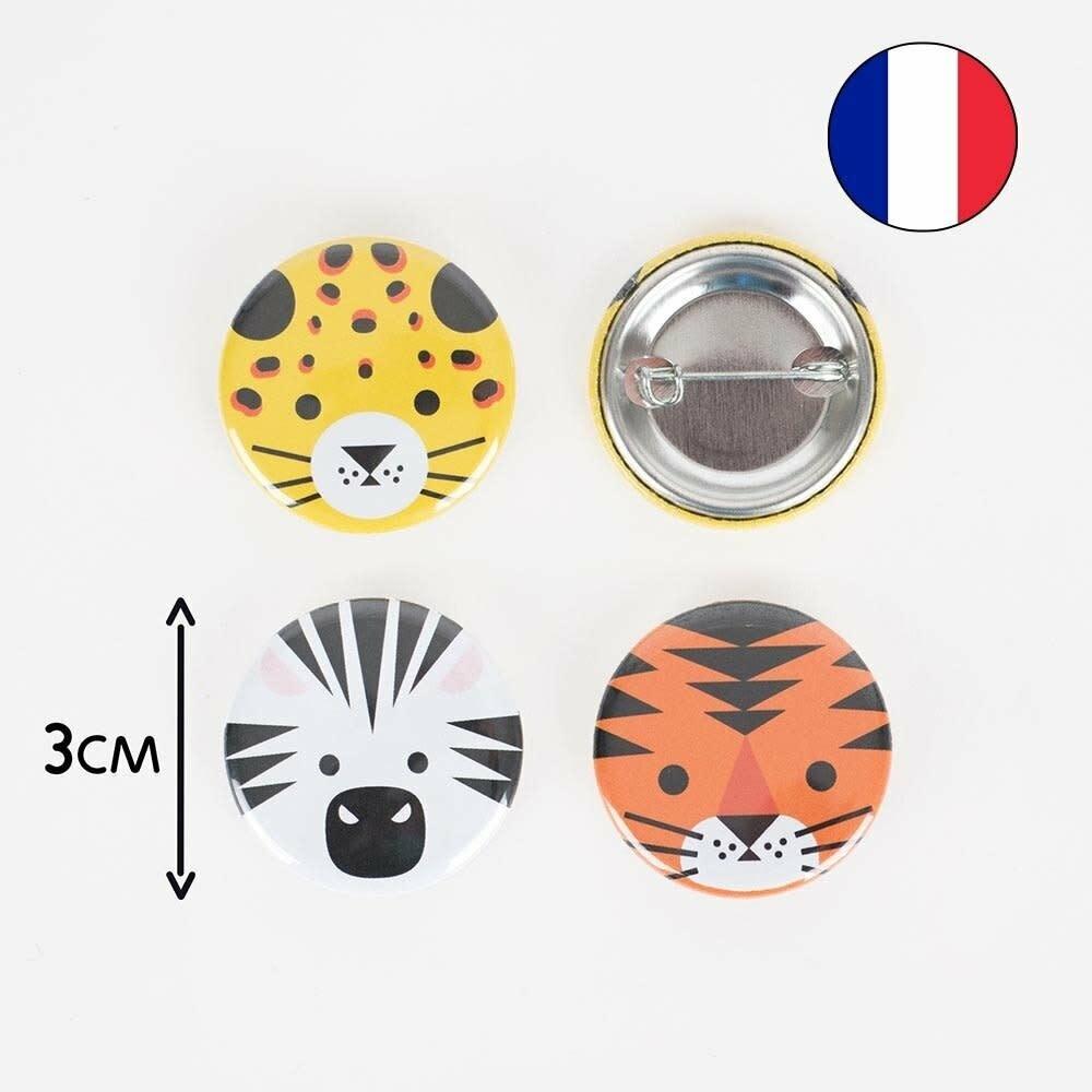 MY LITTLE DAY badge safari